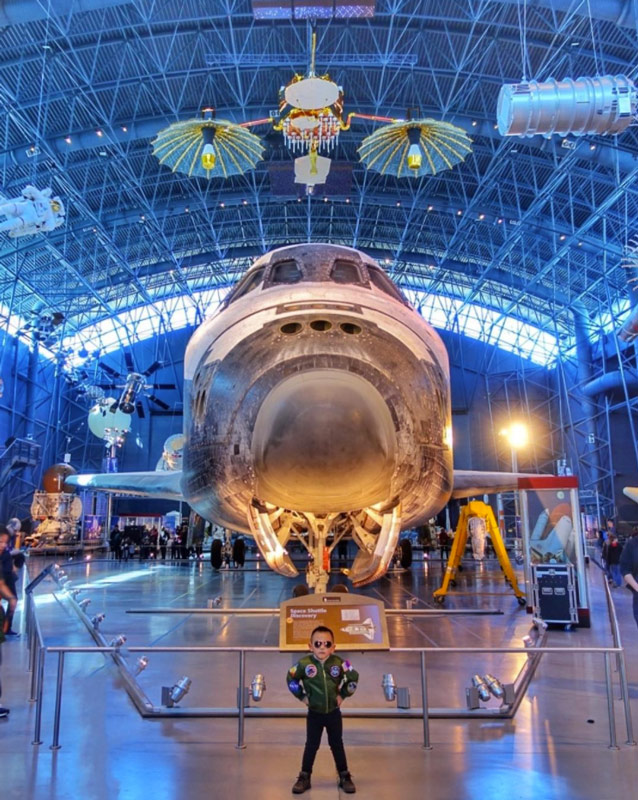 @masonabba - Space Shuttle Discovery at Steven F. Udvar Hazy Center - Air and Space Museum
