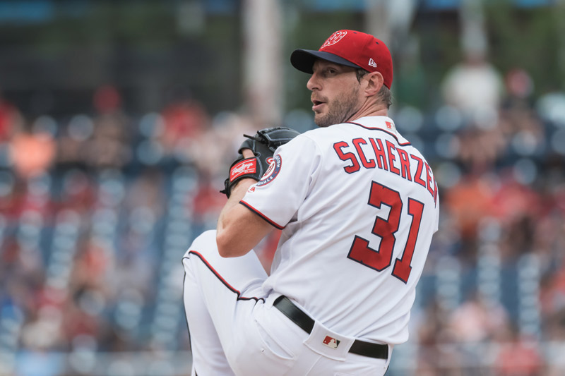 Max Scherzer of the Washington Nationals - Can't-miss Washington, DC sports superstars