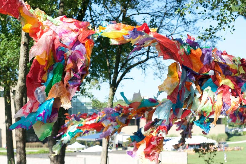 By The People Festival art installation from Maya Freelon - Can't-miss summer arts festival in Washington, DC