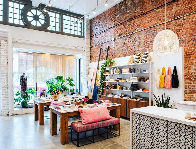 @mcschnitzer - Inside Salt and Sundry home design and decor shop - Boutique store on 14th Street in DC