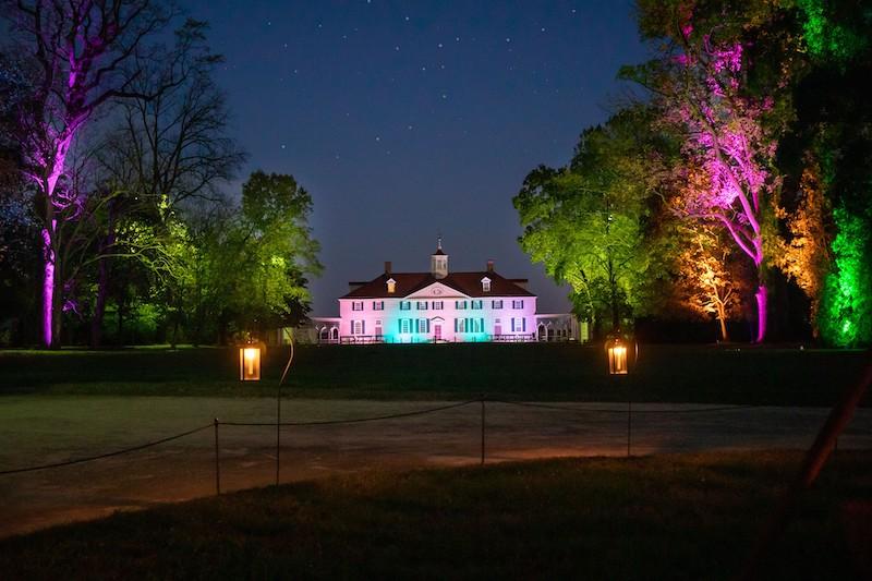 Winter Glow at George Washington's Mount Vernon