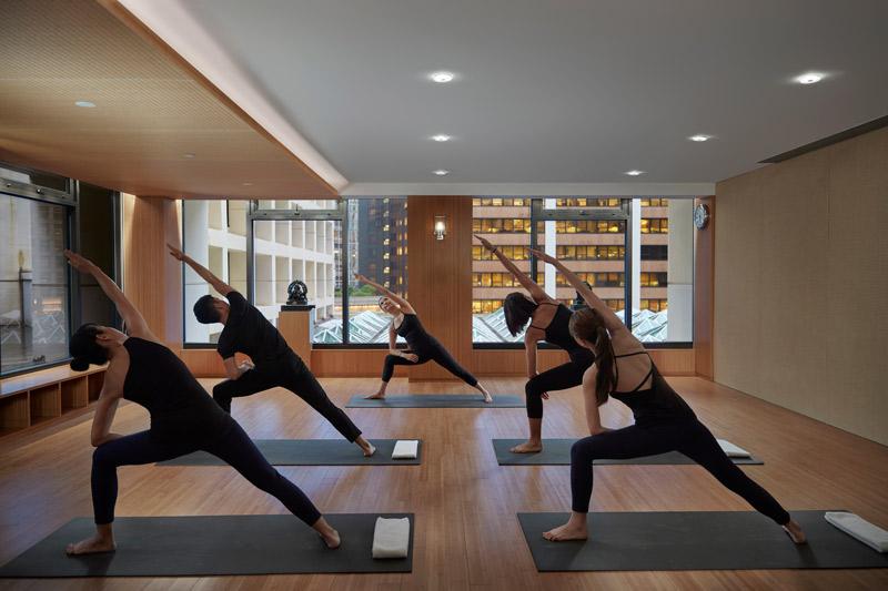 Yoga at the Mandarin Oriental, Washington, DC - Unique meeting break ideas in DC