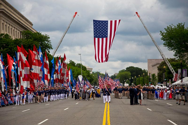 National Memorial Day Parade in Washington, DC - Things to Do This Summer in DC