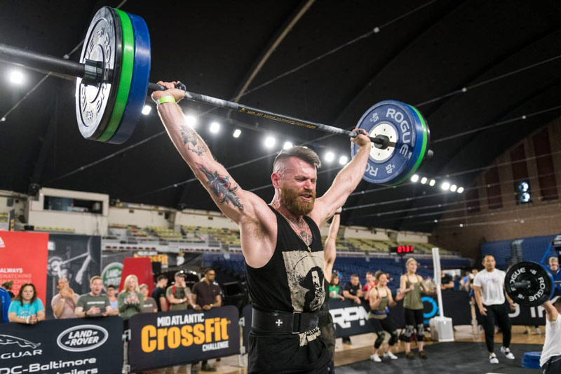 Mid-Atlantic CrossFit event at the DC Armory - Sports events in Washington, DC's sports venues