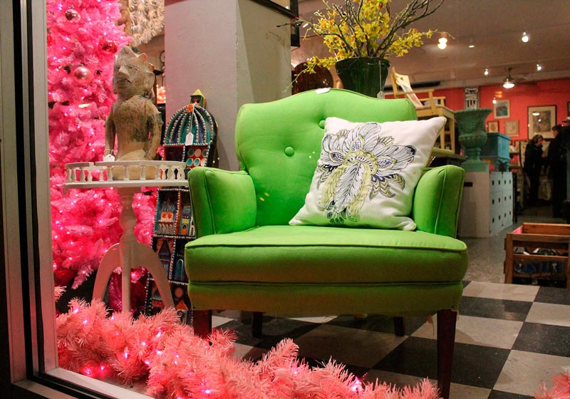 Miss Pixie's Boutique with Vintage Fashion and Furnishings