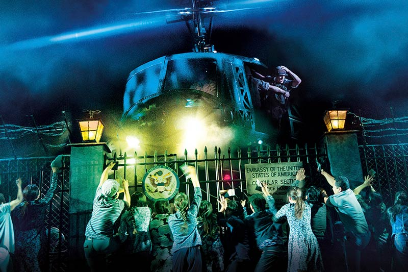Miss Saigon at the Kennedy Center for the Performing Arts - Winter theater in Washington, DC