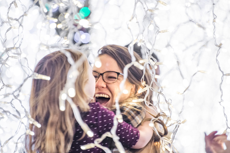 Mother and Daughter at Enchant Christmas - Reasons to Experience Enchant