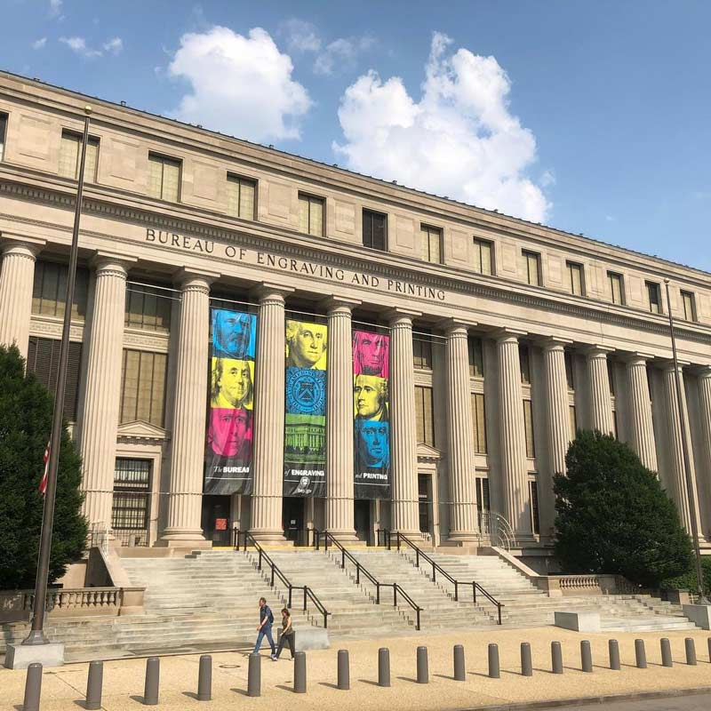 @moremeeces - United States Bureau of Printing and Engraving - Free attraction in Washington, DC