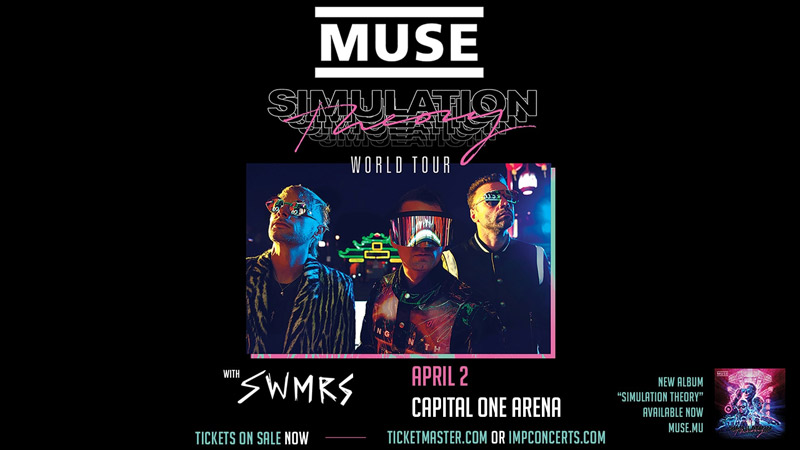 Muse at Capital One Arena - Concerts this spring in Washington, DC