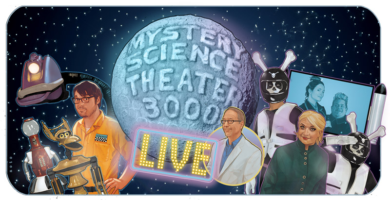 Mystery Science Theater 3000 Live! at the Lincoln Theatre in Washington, DC