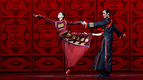 National Ballet of China 'Raise the Red Lantern' at the Kennedy Center - Chinese New Year celebrations in Washington, DC