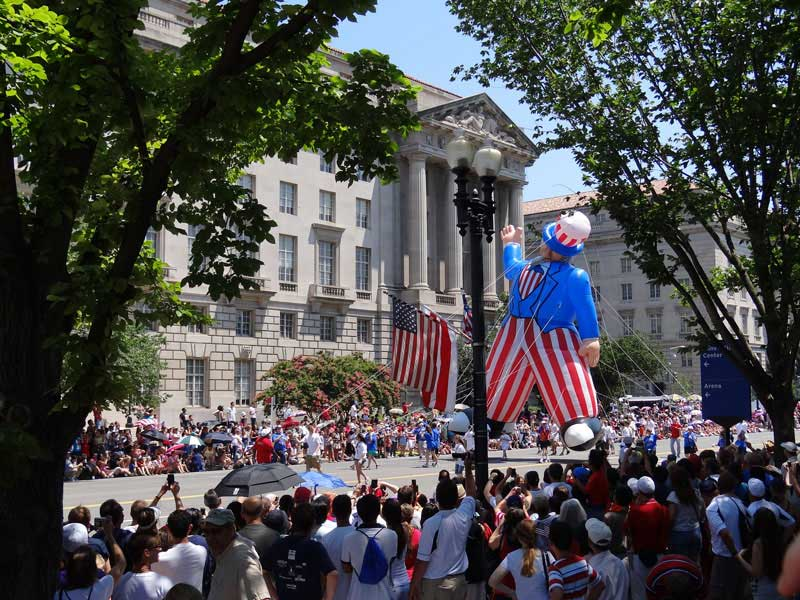 National Independence Day Parade - Fourth of July Family Friendly Activities in Washington, DC