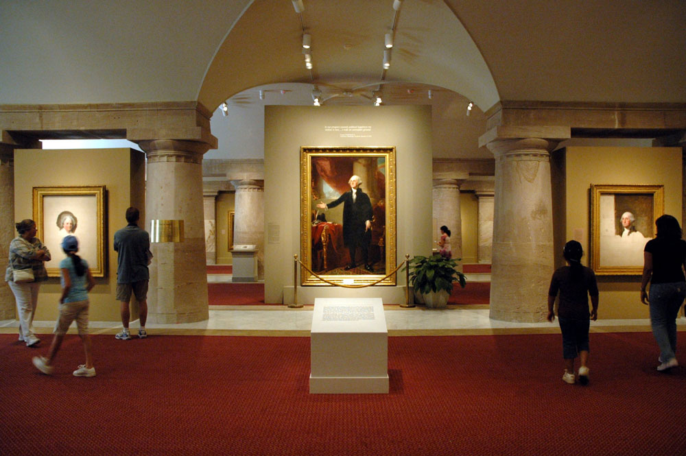 Visiting The Smithsonian National Portrait Gallery