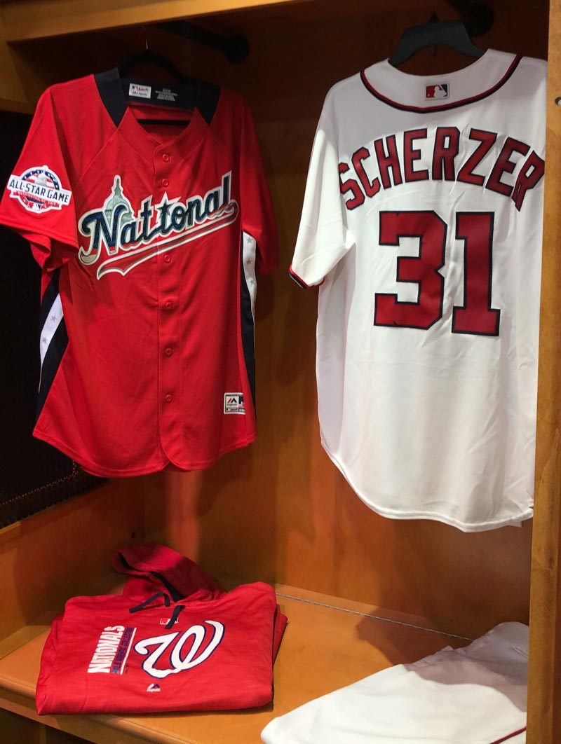9043832b Washington Nationals jerseys at MLB All-Star FanFest - MLB All-Star Game  events