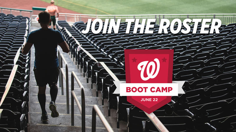 Nationals Boot Camp   Summer Outdoor Activity In Washington, DC