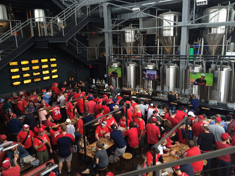 Bluejacket Brewery - Places to eat on the Capitol Riverfront - Washington, DC