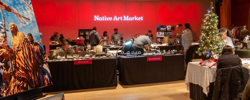 Native Art Market at the Smithsonian National Museum of the American Indian