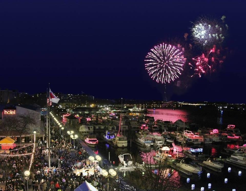 Southwest Waterfront Fireworks Festival - National Cherry Blossom Festival Events - Washington, DC