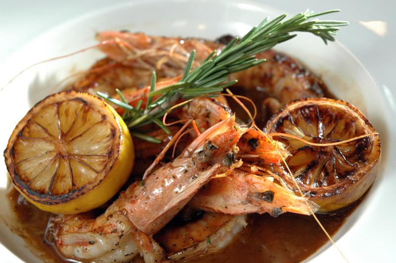 New Orleans-Style Barbeque Shrimp at Acadiana - Washington, DC Signature Dishes