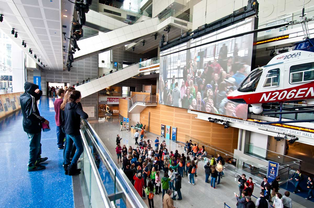 Newseum Great Hall - Museums in Washington, DC