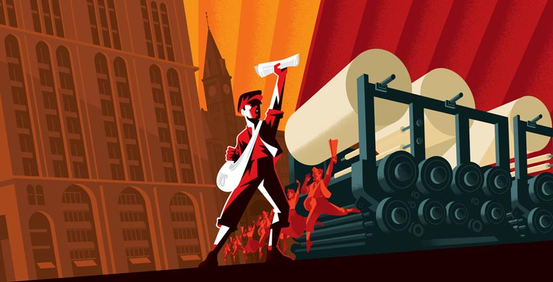 Newsies production at Arena Stage - Autumn theater in Washington, DC