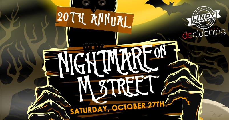Nightmare on M Street Bar Crawl - Halloween events and parties in Washington, DC