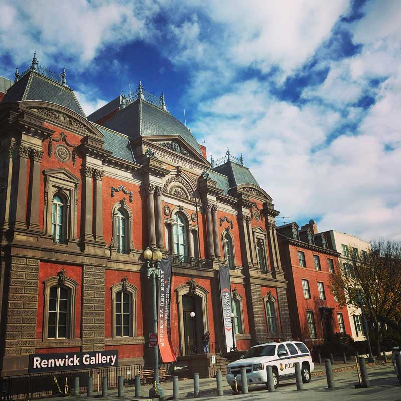 @nittanypanda - Smithsonian American Art Museum's Renwick Gallery in Downtown - Free museum in Washington, DC