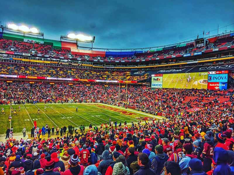 @njpostil - Washington Redskins football game at FedExField - Things to do this fall in Washington, DC