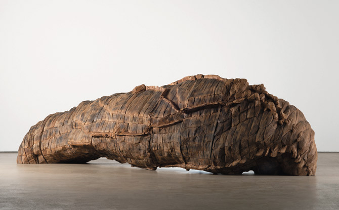 Ursula von Rydingsvard: The Contour of Feeling exhibit at the National Museum of Women in the Arts in Washington, DC