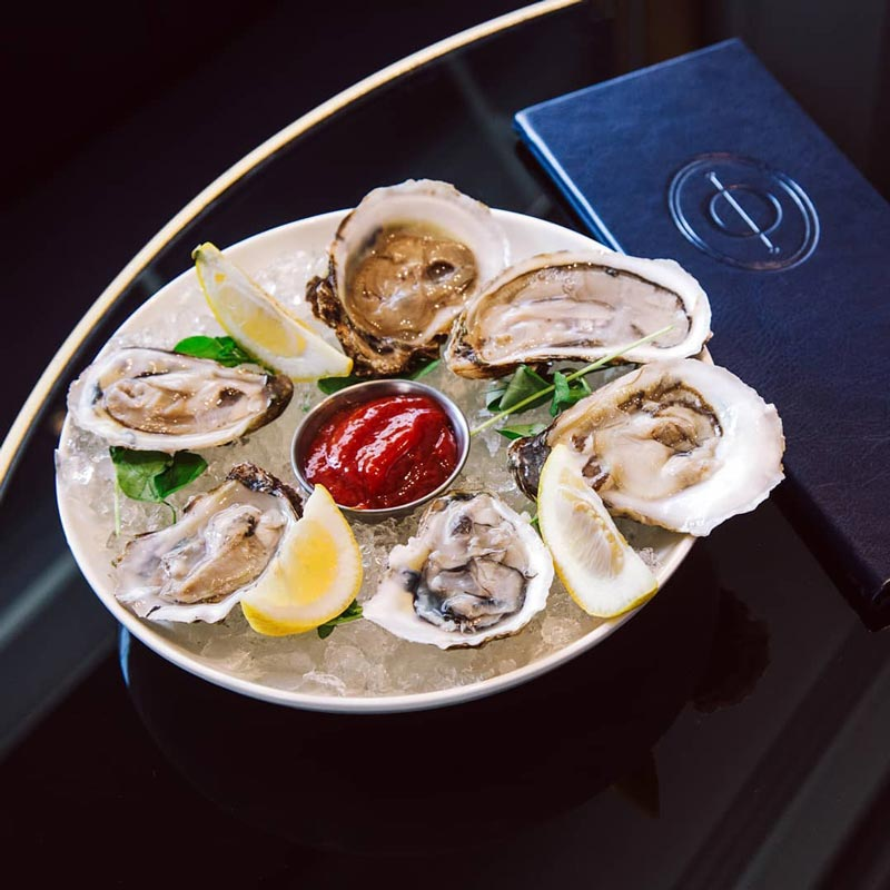 Opaline Bar and Brasserie at the Sofitel Washington, DC Lafayette Square - Best hotels for foodies in DC