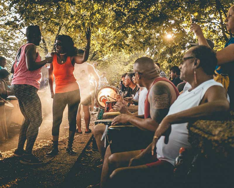 @paddyleahy - Meridian Hill Park Sunday drum circle - Free arts and culture in Washington, DC