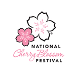 national cherry blossoms festival logo