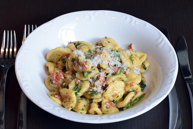 Pasta dish from Bibiana Osteria and Enoteca - Where to get an express lunch near the DC convention center