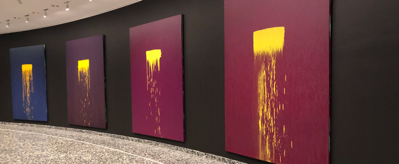 Pat Steir: Color Wheel at the Hirshhorn Museum - Free Smithsonian exhibit in Washington, DC