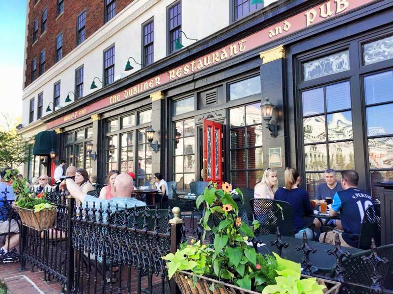 The Dubliner Pub at the Phoenix Park Hotel on Capitol Hill - Places to eat and drink on DC's Capitol Hill