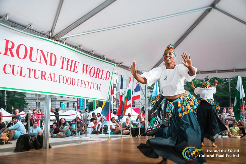 Around the World Cultural Food Festival in Downtown DC - Things to do this August in Washington, DC