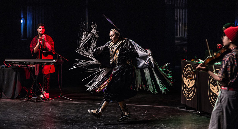Performance from A Tribe Called Red - Kennedy Center performances honoring indigenous heritage