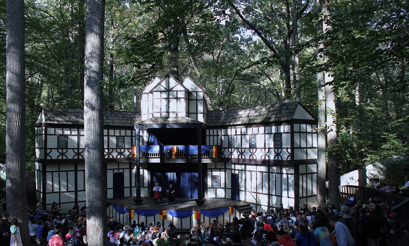 Performance stage at Maryland Renaissance Festival - Things to do near Washington, DC