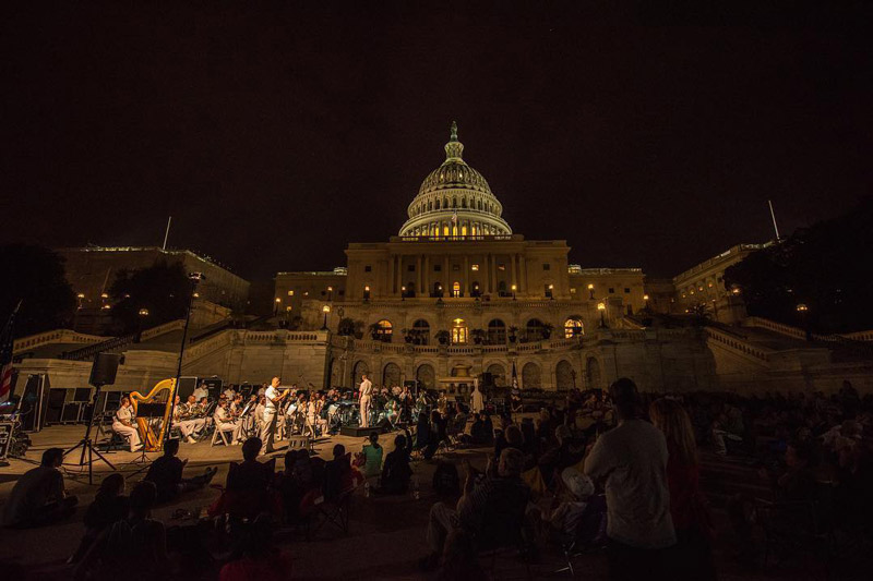 @photodrc - Free summer concert on the U.S. Capitol grounds - Family-friendly activities in Washington, DC