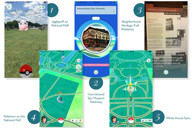5 Pokémon Go Tips to Become the Very Best in Washington, DC