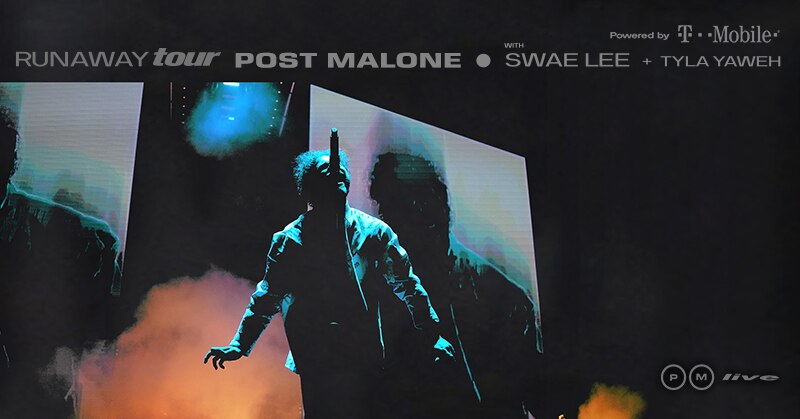 Post Malone concert at Capital One Arena this October - Fall concerts in Washington, DC