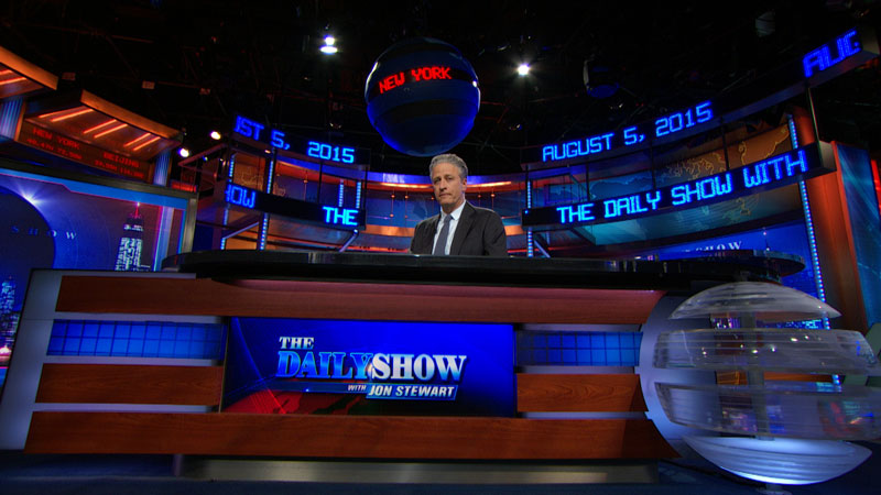 Seriously Funny: From the Desk of 'The Daily Show with Jon Stewart' - Newseum exhibit in Washington, DC