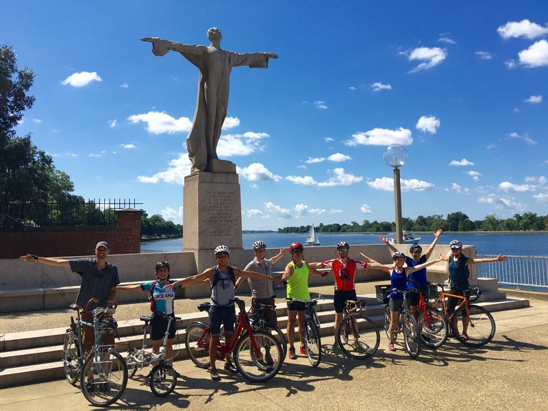 Private bike tour with DC Cycling Concierge - Fitness excursion for meetings and conventions in Washington, DC