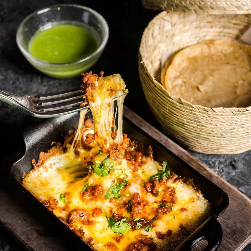 Queso fundido at Mi Vida - Best restaurants to try now at The Wharf in Washington, DC
