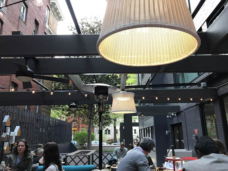 Radiator Patio At Kimpton Mason And Rook Hotel   Outdoor Places To Eat In  Washington,