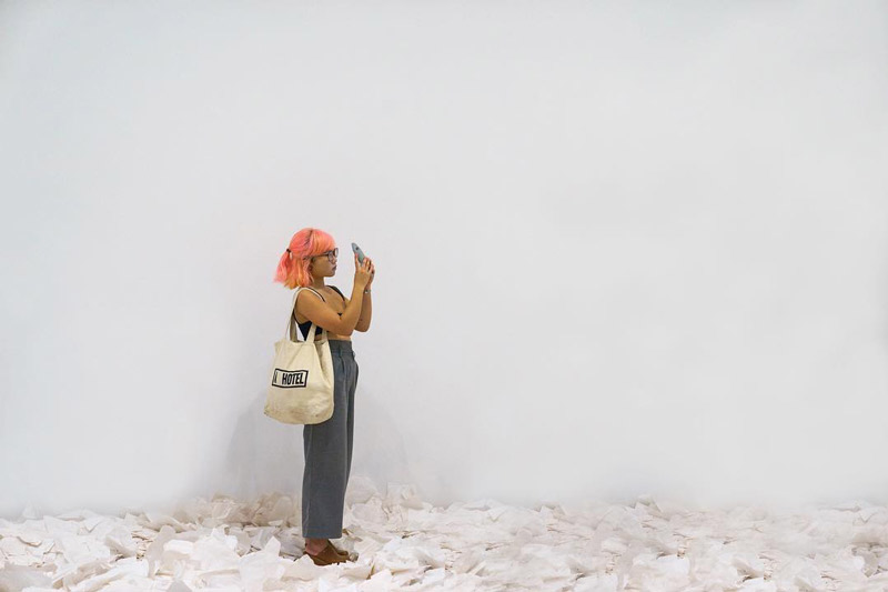 @rchilt - 'What Absence is Made Of' Exhibit at the Smithsonian Hirshhorn Museum - Free Modern Art Museum in Washington, DC