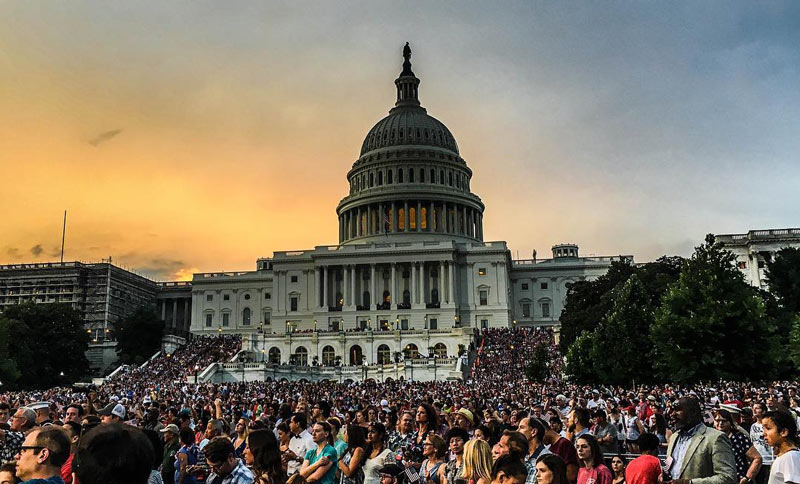 @realspencers - 'A Capitol Fourth' July 4th Concert at the U.S. Capitol - Free Summer Concert in Washington, DC