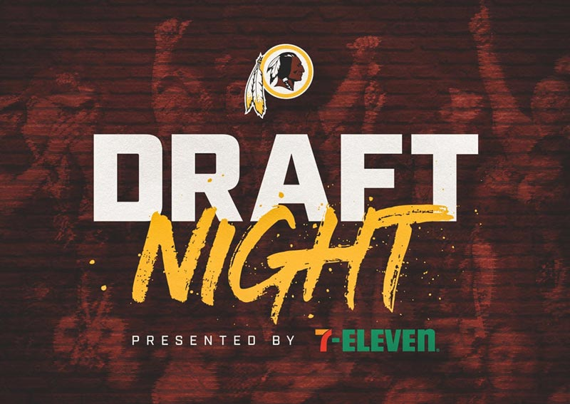Redskins Draft Night at The Anthem – Things to do this spring in Washington, DC