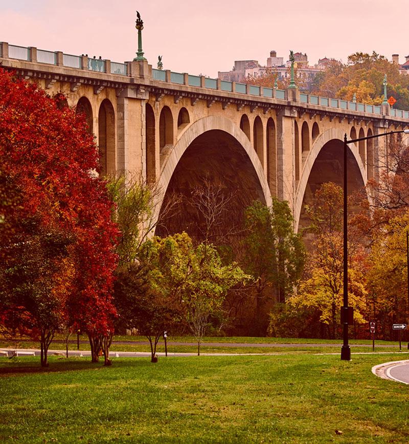 Rock Creek Park - Underneath the Taft Bridge - Washington, DC