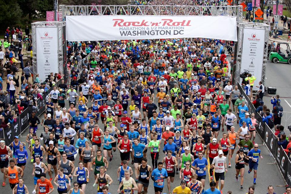 Rock 'n' Roll Marathon in Washington, DC - Top Organized Races and Marathons